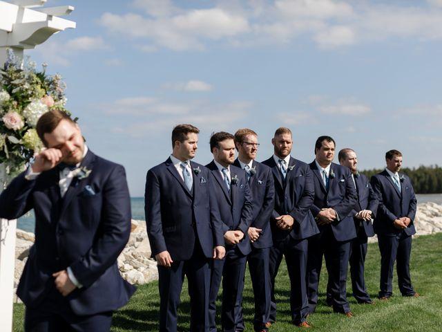 Jeff and Amanda's Wedding in Baileys Harbor, Wisconsin 38