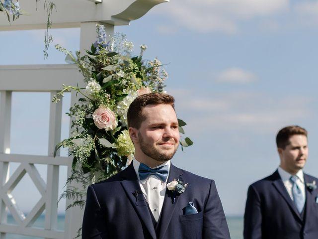 Jeff and Amanda's Wedding in Baileys Harbor, Wisconsin 39