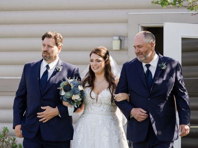 Jeff and Amanda's Wedding in Baileys Harbor, Wisconsin 40