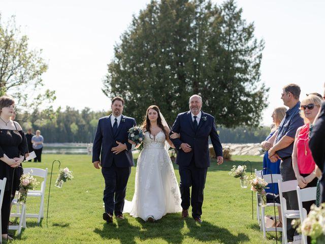 Jeff and Amanda's Wedding in Baileys Harbor, Wisconsin 41