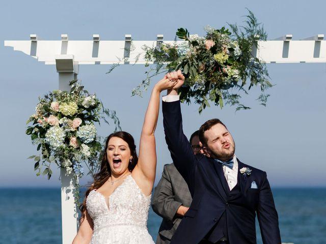 Jeff and Amanda's Wedding in Baileys Harbor, Wisconsin 45