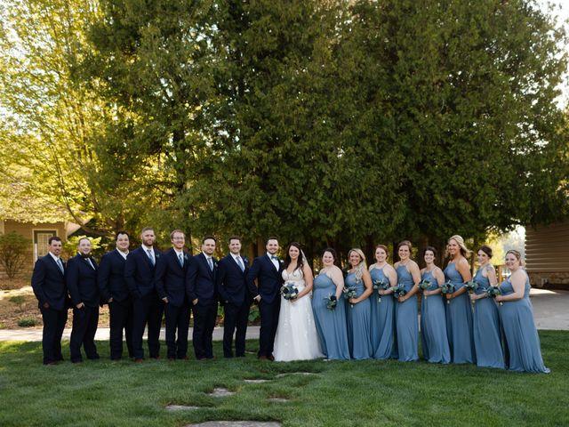 Jeff and Amanda's Wedding in Baileys Harbor, Wisconsin 50