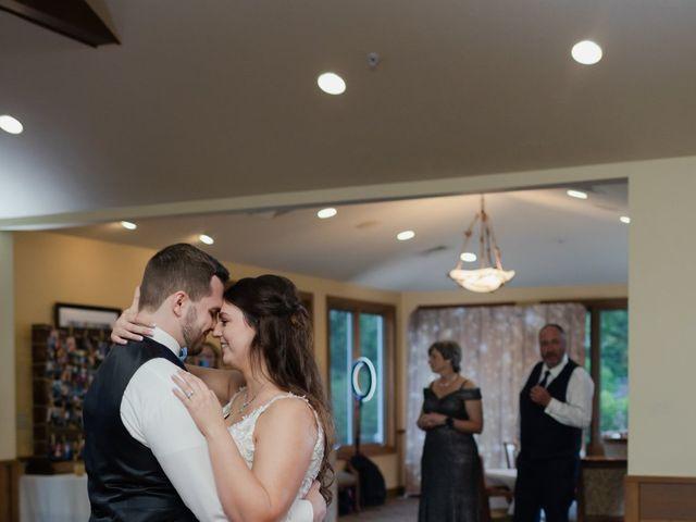 Jeff and Amanda's Wedding in Baileys Harbor, Wisconsin 62