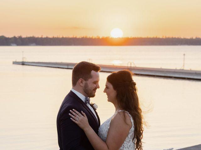 Jeff and Amanda's Wedding in Baileys Harbor, Wisconsin 70