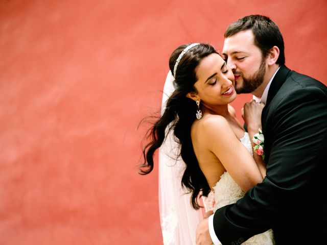The wedding of Erick and Daniella