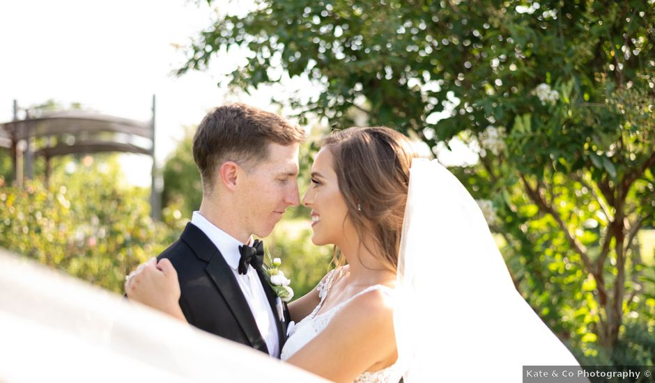 Aaron and Claire's Wedding in McKinney, Texas