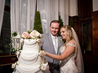 The wedding of Courtney and Zack