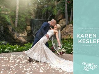 The wedding of Karen and Kesler 1