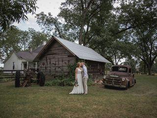 The wedding of Courtney and Eli