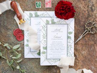 The wedding of Sarah and Eddie 2