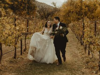 The wedding of Brooke and Sam
