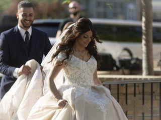 The wedding of Edgard and Stephanie