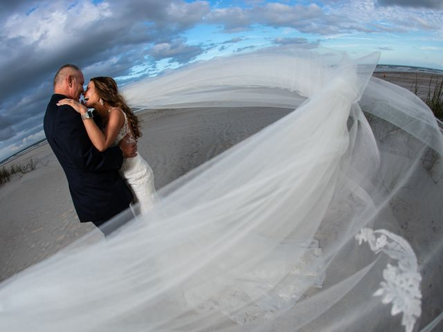 The wedding of Joanna and Doug