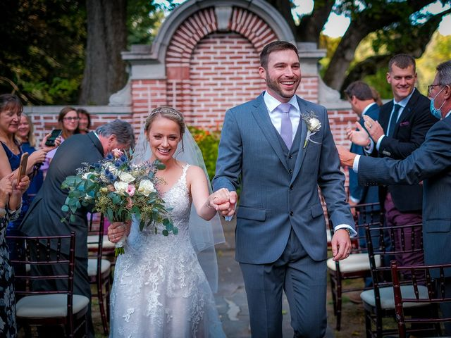 Andy and Samantha's Wedding in Andover, Massachusetts 34