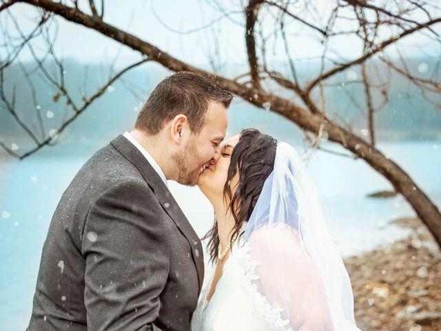 Justin and Mandy's Wedding in Branson, Missouri 3
