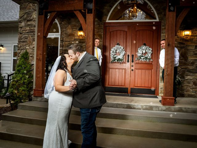 Justin and Mandy's Wedding in Branson, Missouri 1
