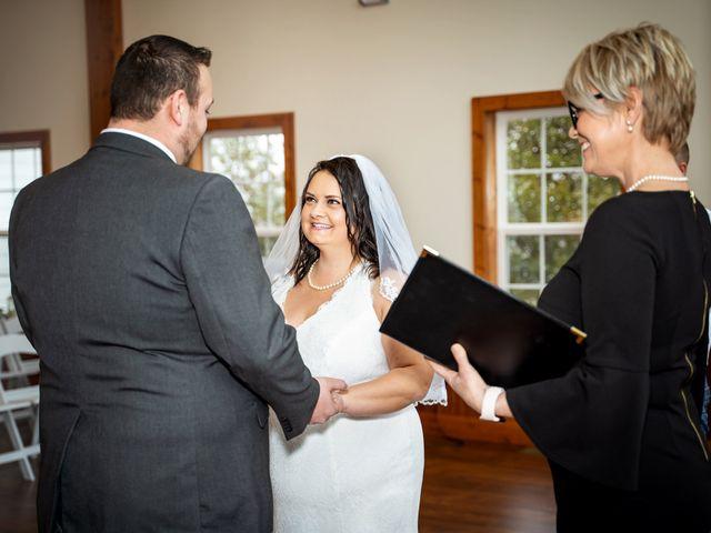 Justin and Mandy's Wedding in Branson, Missouri 9