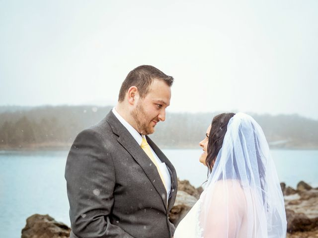 Justin and Mandy's Wedding in Branson, Missouri 10