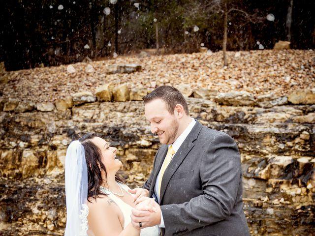 Justin and Mandy's Wedding in Branson, Missouri 12