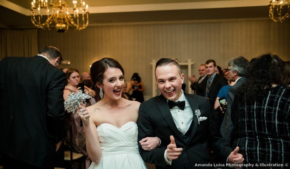 Mitch and Kristen's Wedding in Worcester, Massachusetts