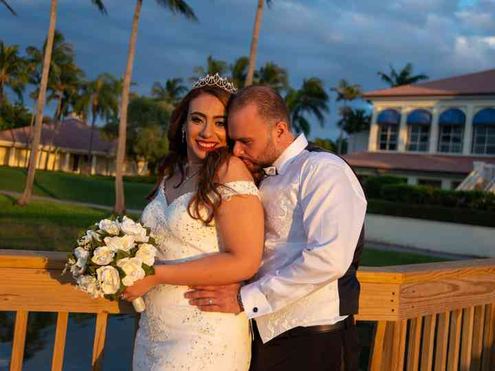 The wedding of Abraham and Merna