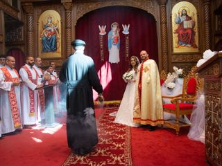 The wedding of Abraham and Merna 1