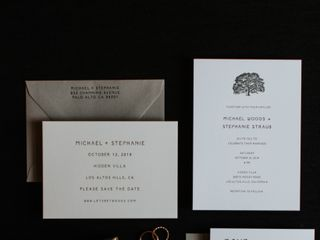 The wedding of Stephanie and Michael 1