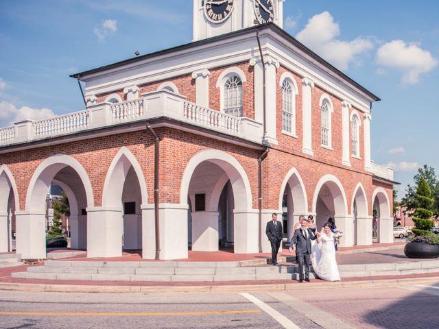 Richard and Courtney's Wedding in Fayetteville, North Carolina 6