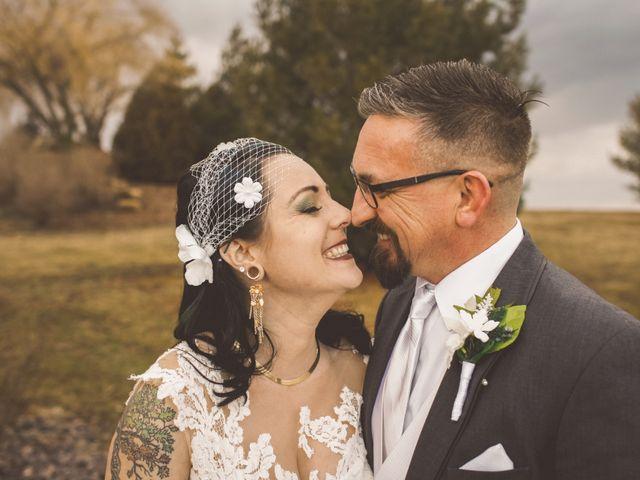 The wedding of Lisa and Ben
