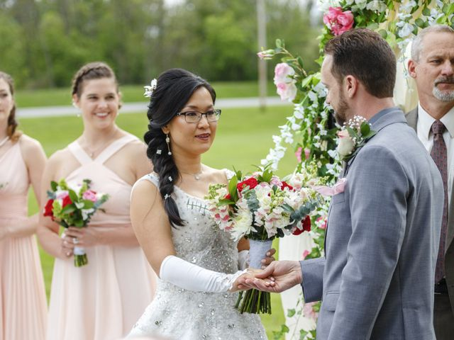 Tyler and Emily's Wedding in Rochester, New York 18
