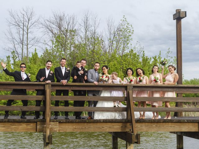 Tyler and Emily's Wedding in Rochester, New York 19