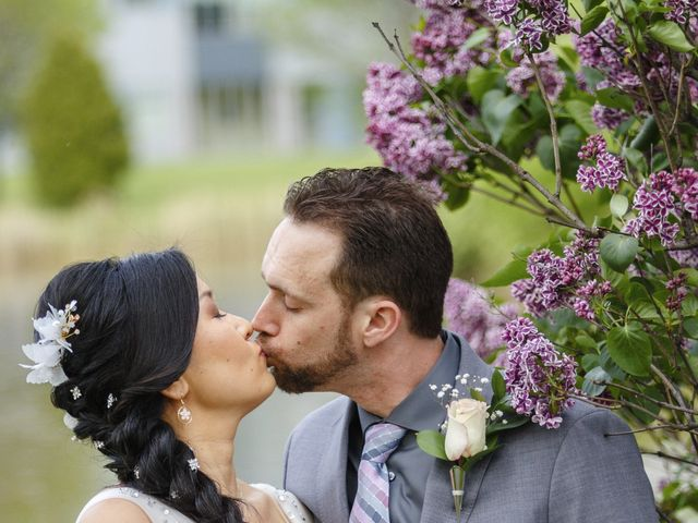 Tyler and Emily's Wedding in Rochester, New York 20