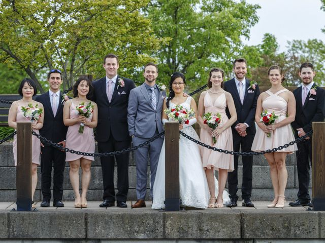 Tyler and Emily's Wedding in Rochester, New York 22