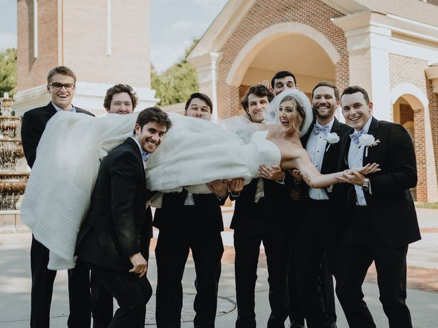 Hannah and Ben's Wedding in Huntersville, North Carolina 9