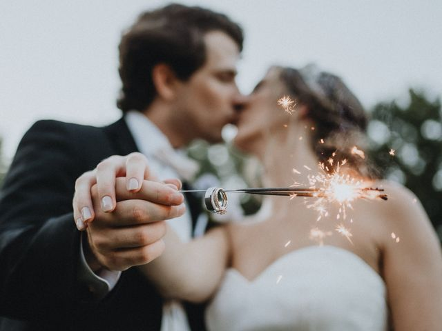 Hannah and Ben's Wedding in Huntersville, North Carolina 27