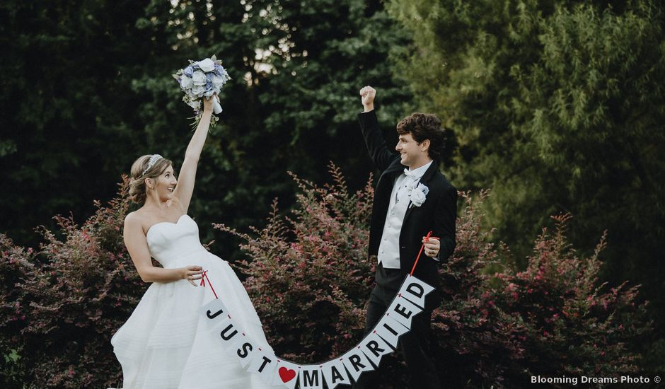 Hannah and Ben's Wedding in Huntersville, North Carolina