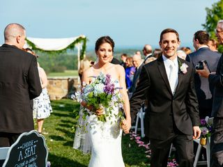 Stephanie and Chris's Wedding in Bluemont, Virginia 14