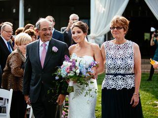 Stephanie and Chris's Wedding in Bluemont, Virginia 13