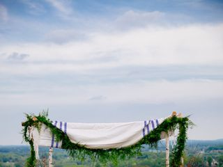 Stephanie and Chris's Wedding in Bluemont, Virginia 11