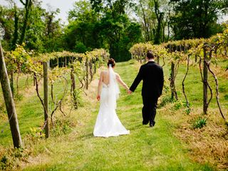 Stephanie and Chris's Wedding in Bluemont, Virginia 15