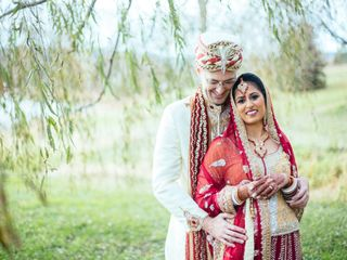 Meera and George's Wedding in Purcellville, Virginia 3