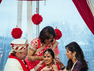 Meera and George's Wedding in Purcellville, Virginia 10