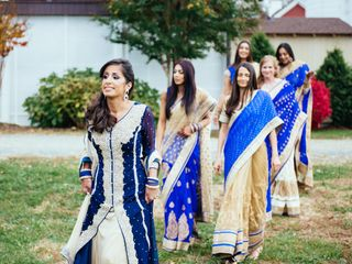 Meera and George's Wedding in Purcellville, Virginia 6