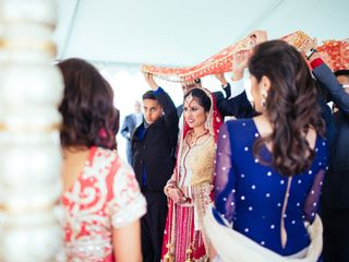 Meera and George's Wedding in Purcellville, Virginia 8