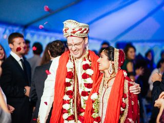 Meera and George's Wedding in Purcellville, Virginia 13