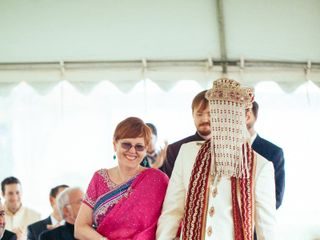 Meera and George's Wedding in Purcellville, Virginia 7