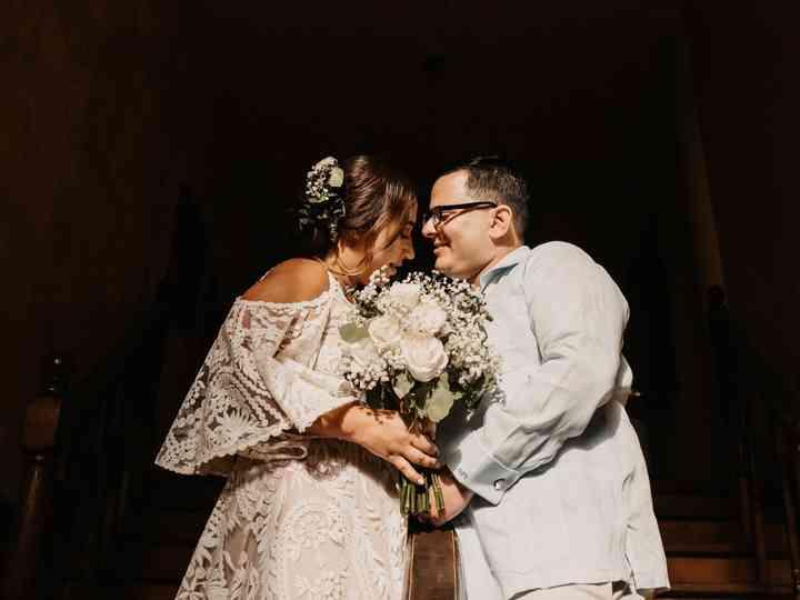 The wedding of Itsa and Omar
