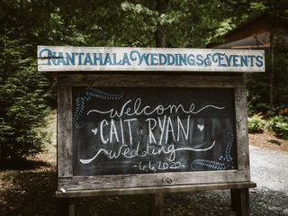 The wedding of Cait and Ryan 1