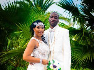 The wedding of Lameisha Dawson  and Aubrey Dawson  1