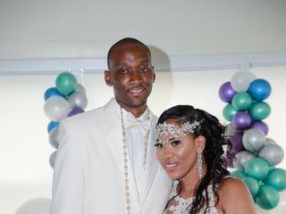 The wedding of Lameisha Dawson  and Aubrey Dawson  3